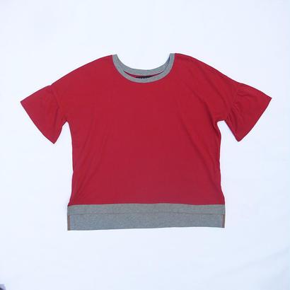 """SHIRTS""T-SHIRTS / ROSE RED"