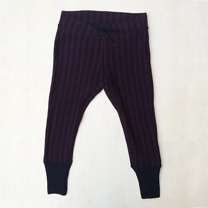 SHIMASHIMA PANTS / WINE×NAVY