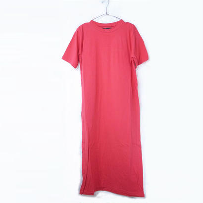 LONG LENGTH T-SHIRTS / ROSE RED