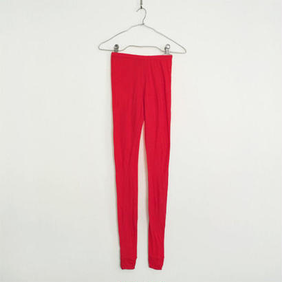 """PITATTO"" LEGGINGS / ROSE RED"