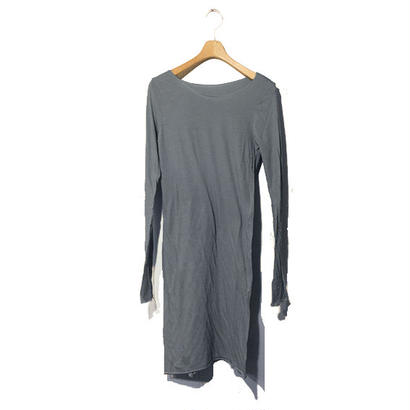 PITATTO MIDDLE LENGTH INNER T / CHARCOAL GRAY
