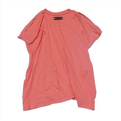 """""""NO SLEEVE""""T / CHERRY PINK"""
