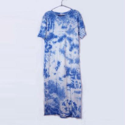 LONG LENGTH T-SHIRTS / INDIGO SKY BLUE