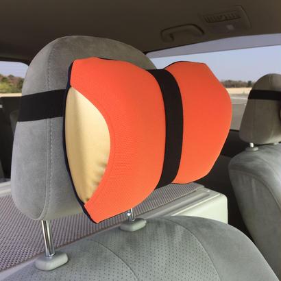 ネックラック(オレンジ×ネイビー)【車用セット】