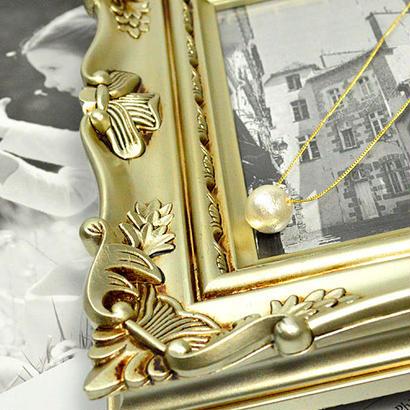 コットンパール ホワイト12ミリ ネックレス チェーンの長さ:約38~43cm(アジャスターで調整可能)