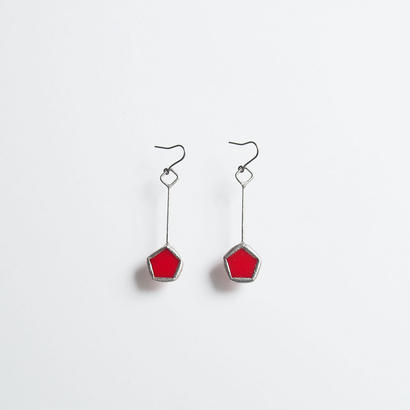 pentagon pierce/red