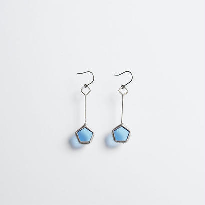 pentagon pierce/light blue