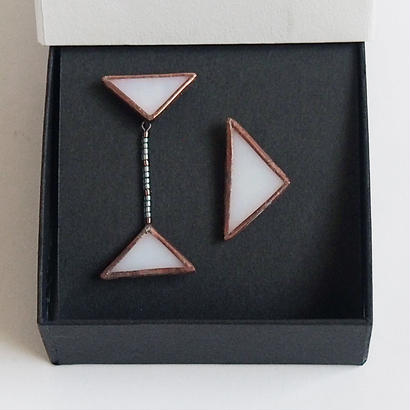 beads triangles piace / antique / B