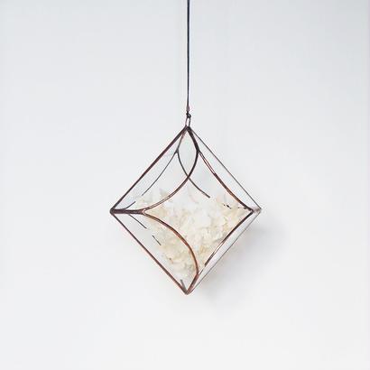 hanging flowervase/cloisonne/antique