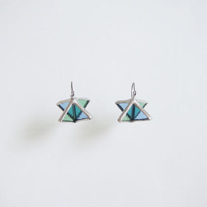 rhombus pierce/light blue×light green