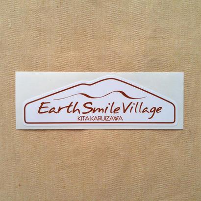 ステッカー[Earth-Smile Villageロゴ]