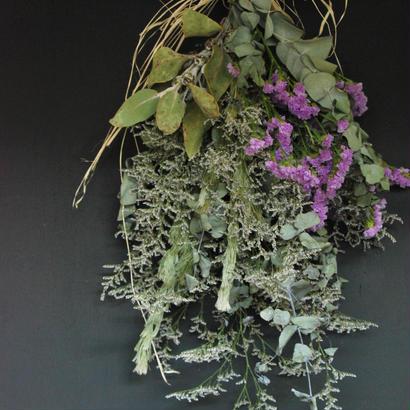 野の花屋 シルバーリーフスワッグ pert2
