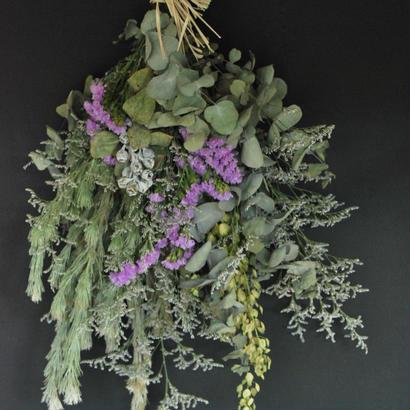 野の花屋 シルバーリーフスワッグ pert1