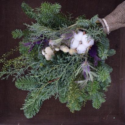 野の花屋 シルバーリーフスワッグ