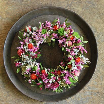 野の花屋 カラフルドライリース