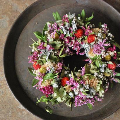野の花屋 カラフルmixドライリース