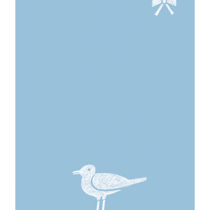 ノラヤ 鳥とリボンの便箋