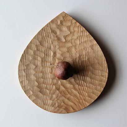 工房イサド クリ形パン皿
