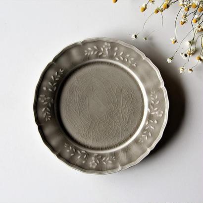 阿部慎太朗 花形リムレリーフ皿
