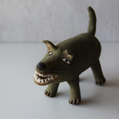 キムホノ イヌの置物