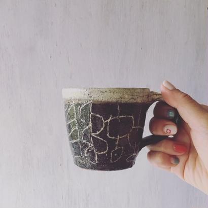清水しおり 象嵌マグカップ