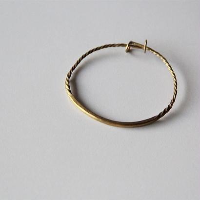 cicafu metal works  A justable Bracelet(ツイスト)