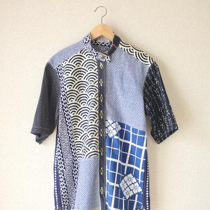 Unisex patchwork shirt (no.047)