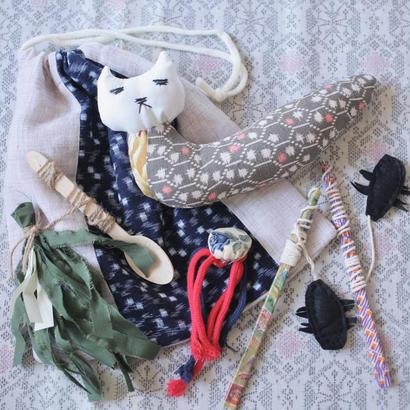 Handmade YURUI cat's toy assort