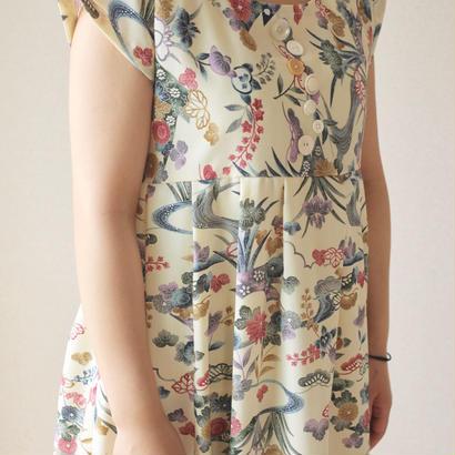 Maxi length Summer Kimono dress (no.036)