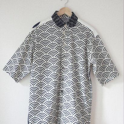 Men's casual shirt /short sleeves (no.014)