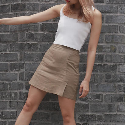 linen tight skirt