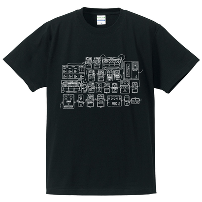 "NUITO Tee ""PEDALS"" [BLK]"
