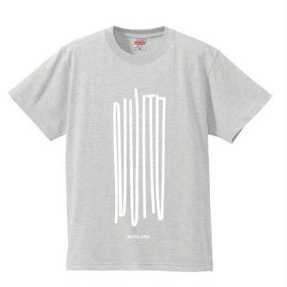 "NUITO Tee ""NOISE"" [Heather Gray]"