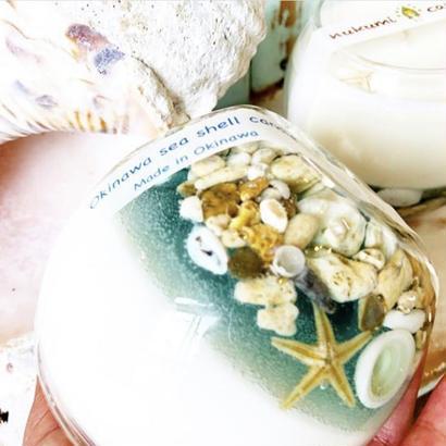 soy&shell グラスキャンドル L