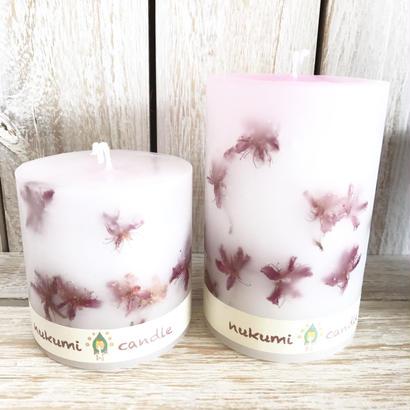 沖縄世界遺産桜キャンドル white
