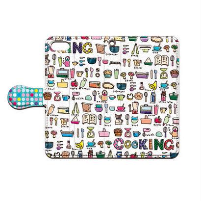 cana.(キャナ) cooking 手帳型スマホケース 対応機種(iPhone/アンドロイド機種)
