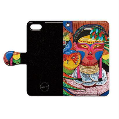 PED(ペッド) ped 族の女 手帳型 スマホケース 対応機種(iPhone/アンドロイド機種)