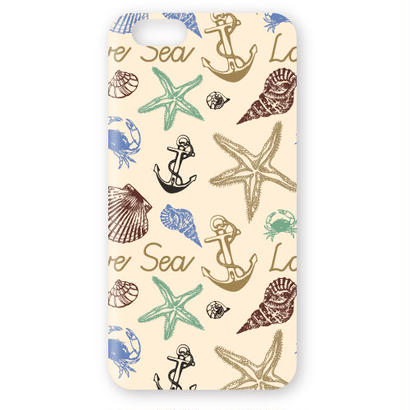 No.INFINITE love sea by maw 3D ハードスマホケース 対応5機種(iPhone/アンドロイド機種)