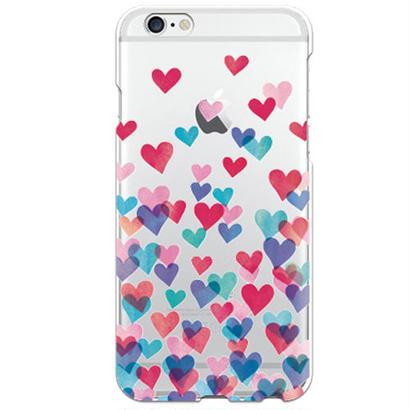 No.INFINITE love by maw クリア ハード ケース(側面部印刷なし) 対応5機種(iPhone機種)