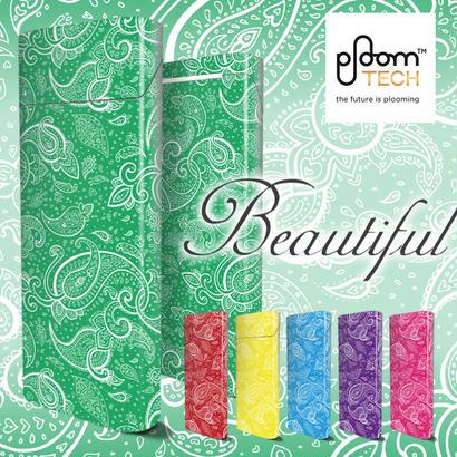 【全面対応フルカスタム!】Ploom TECH プルームテック21【選べる12デザイン】専用スキンシール 裏表2枚セット
