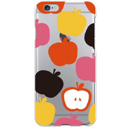 No.INFINITE アップル by maw クリア ハード ケース(側面部印刷なし) 対応5機種(iPhone機種)