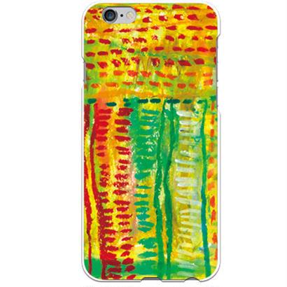 PED(ペッド) textile 正式 クリア ハード ケース(※側面部印刷なし) 対応5機種(iPhone機種)