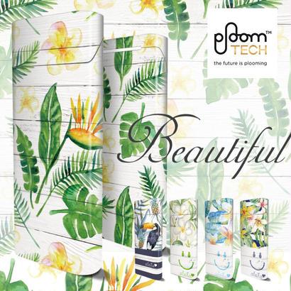 【全面対応フルカスタム!】Ploom TECH プルームテック7 【選べる5デザイン】専用スキンシール 裏表2枚セット