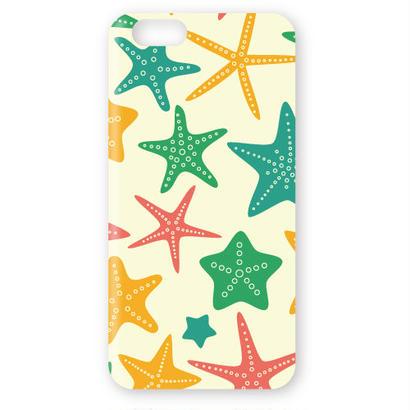 No.INFINITE love sea Starfish by maw 3D ハードスマホケース 対応5機種(iPhone/アンドロイド機種)