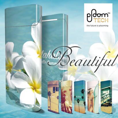 【全面対応フルカスタム!】Ploom TECH プルームテック9【選べる6デザイン】専用スキンシール 裏表2枚セット