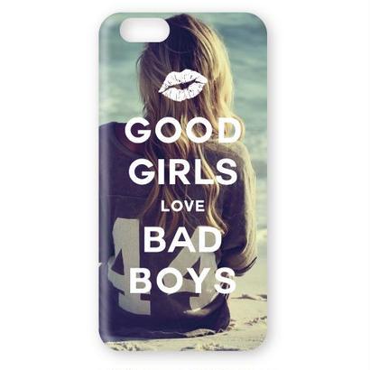 No.INFINITE good girls love bad boys by maw 3D ハードスマホケース 対応5機種(iPhone/アンドロイド機種)
