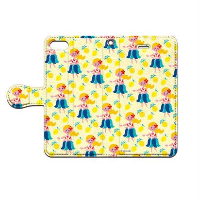 Shimako(しまこ) フラガール 手帳型スマホケース 対応機種(iPhone/アンドロイド機種)