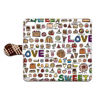 cana.(キャナ) sweet1 手帳型スマホケース 対応機種(iPhone/アンドロイド機種)