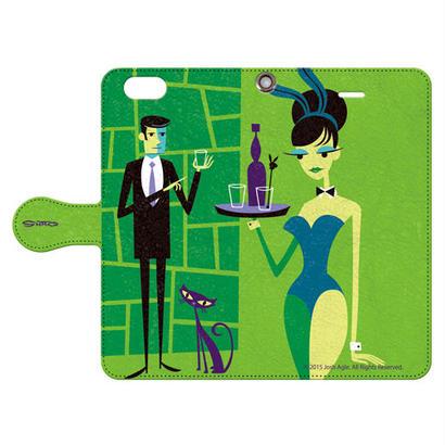 SHAG(シャグ) iPhone6/6s Bunny Girls 手帳型スマホケース