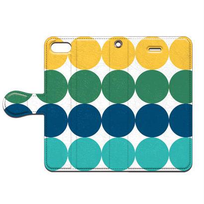No.INFINITE ドット by maw 手帳型スマホケース 対応機種(iPhone/アンドロイド機種)